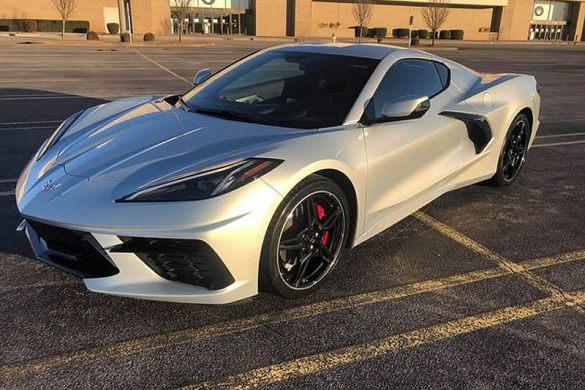 2021 Corvette Stingray in Silver Flare Metallic