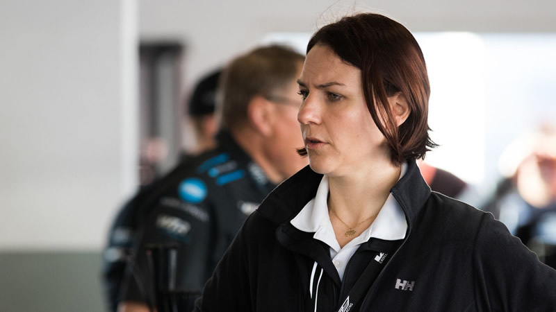 Cadillac Racing program manager Laura Wontrop Klauser is all about growing the brand