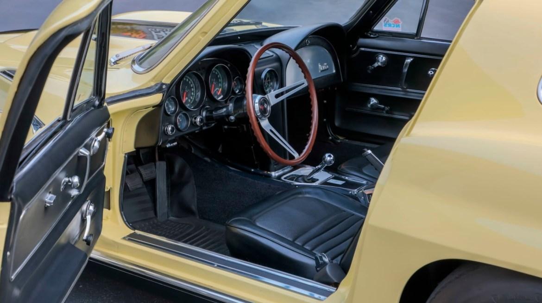 1967 L88 Corvette in Sunfire Yellow