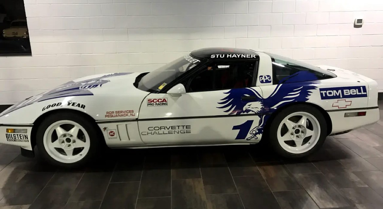 1989 Corvette Challenge Race Car - VIN 1G1YY2184K5110110