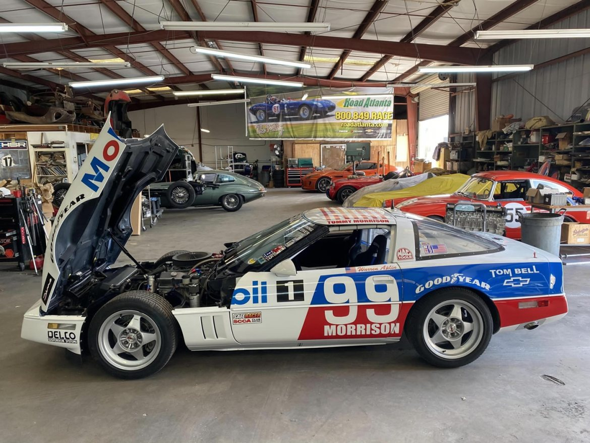 1990 Corvette SCCA Escort World Challenge Race Car #99 - VIN 1G1YY2388L5102610