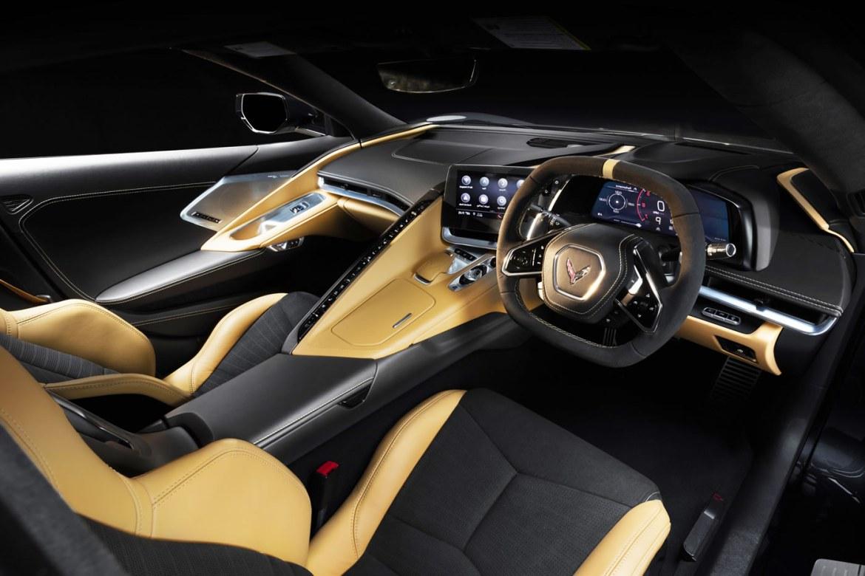 2022 Corvette Right-Hand Drive Interior