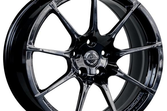 Callaway Corvette C8 Wheel in Black Chrome