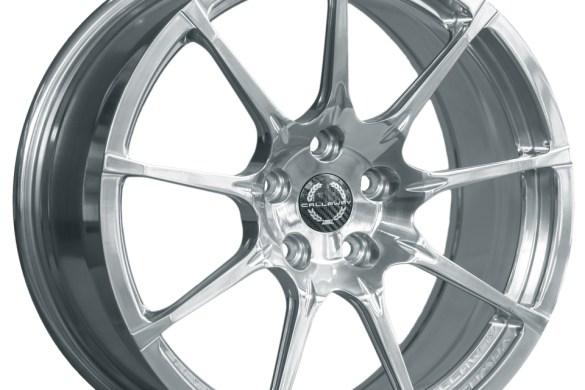 Callaway Corvette C8 Wheel in Ceramic Polish