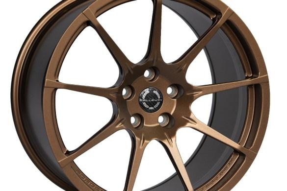 Callaway Corvette C8 Wheel in Matte Bronze
