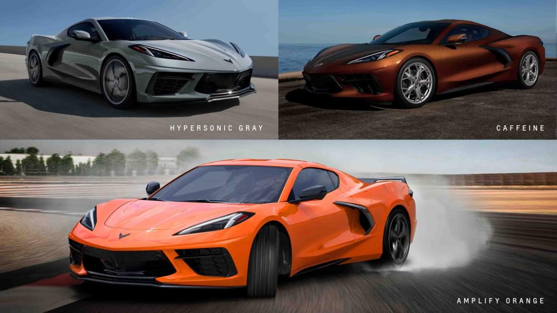 2022 Corvette - New Colors