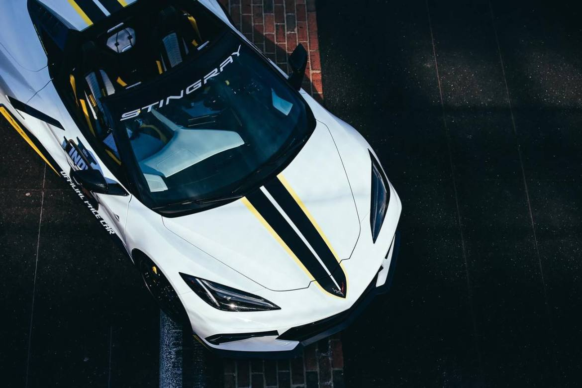 2021 Corvette Will be the Official Pace Car of this Year's Indianapolis 500
