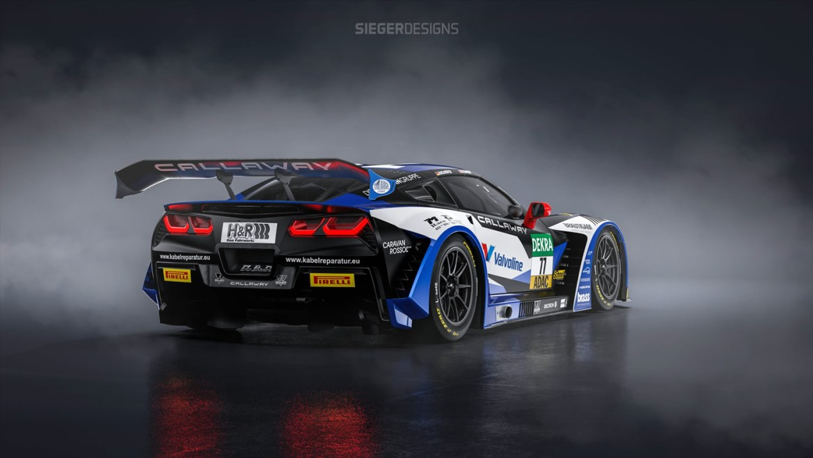 Callaway Cars of Old Lyme, Connecticut will return to racing this year in the ADAC GT Masters series with the C7 GT3-R Corvette