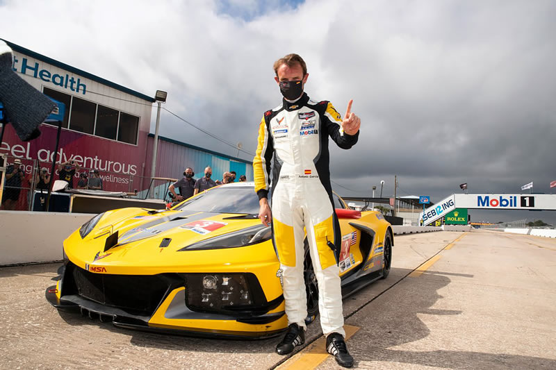 Antonio Garcia - Corvette Racing