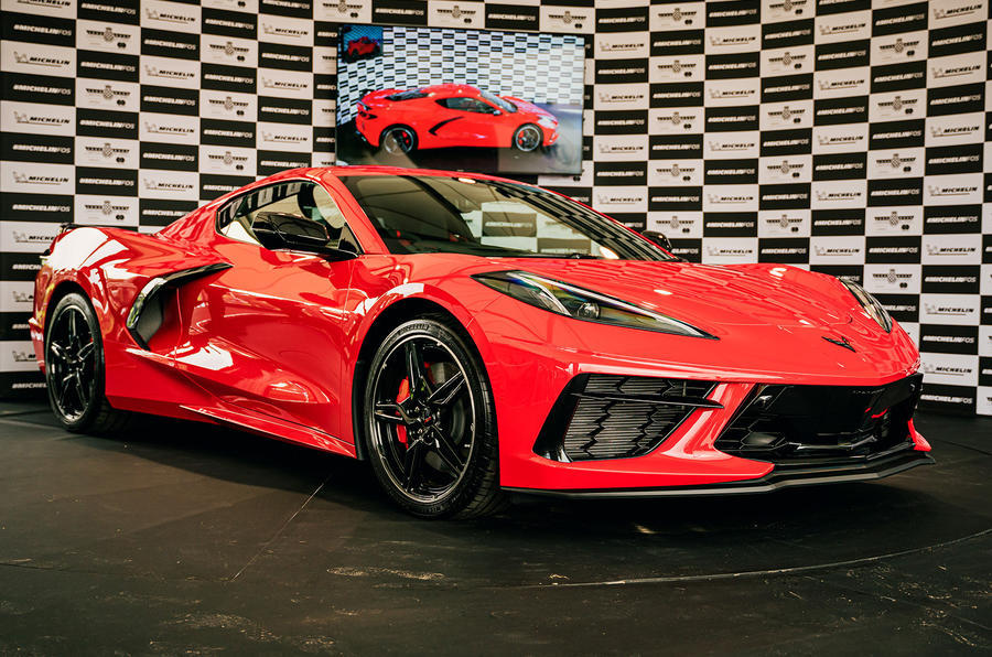 This past weekend the right-hand drive C8 Corvette made its official debut at the the Goodwood Festival of Speed