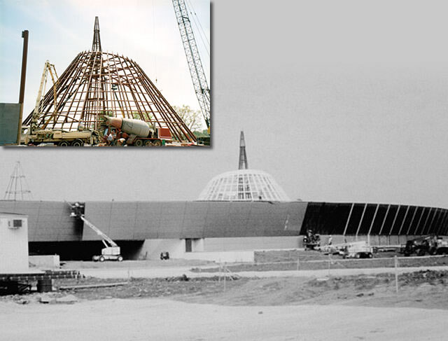 National Corvette Museum Construction