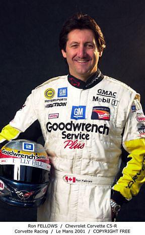 Ron Fellows - Corvette Racing - 2001