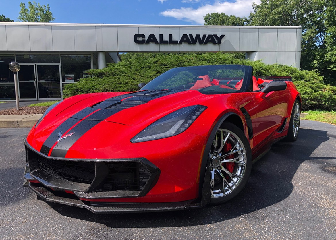 Callaway Cars of Old Lyme, Connecticut unveils the ultimate cooling solution for your C7 Corvette Z06