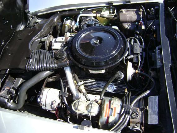 1978 Vette engine