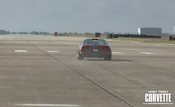 [VIDEO] C4 Corvette Runs the Texas Mile at 211 MPH