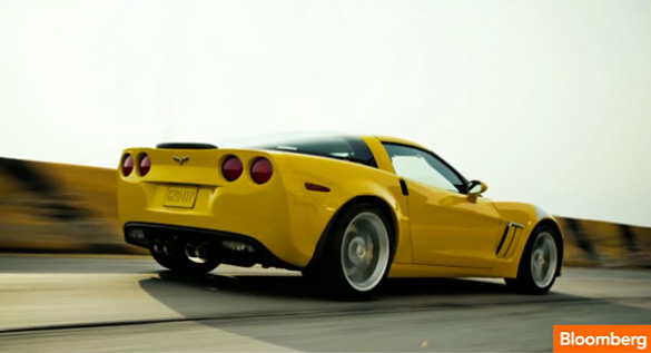 [VIDEO] Bloomberg: Is the 2013 Corvette a Ferrari for the 99%?