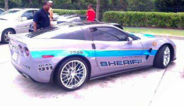 [VIDEO] Sheriff's Use of Seized Corvette ZR1 Under Fire