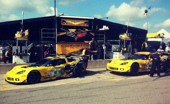Corvette Racing Qualifies One-Two for ALMS Grand Prix of Mosport