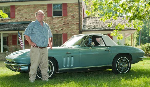 After 40 Years of Storage, Joe Munch's 1966 Corvette Ready to Shine