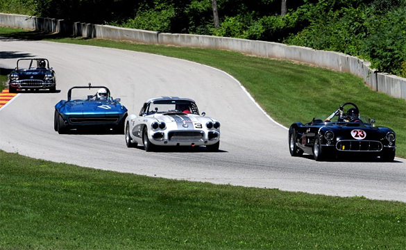 Corvette World Tribute to Celebrate 60 Years of Corvettes at Road America