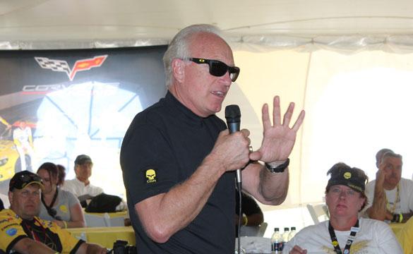 Fehan: Work is Progressing on the Corvette C7.R