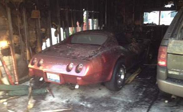 Corvette Torched in Suspicious Chicago Garage Fire