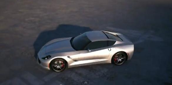 [VIDEO] 2014 C7 Corvette Digitally Animated