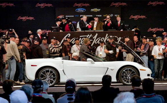 How Much Would You Pay For the First 2014 C7 Corvette?