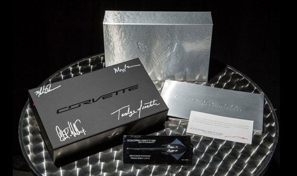 First C7 Corvette Press Kit Raises $4,300 for Charity