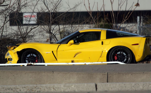 [ACCIDENT] Corvette Z06 Collides with Motorcycle in New Jersey
