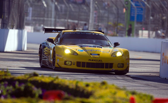 Corvette Racing Finishes 4th and 5th at ALMS Long Beach