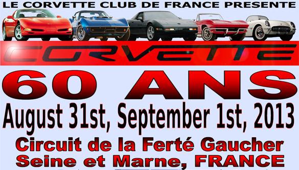 French Corvette Club to Celebrate Corvette's 60th Anniversary