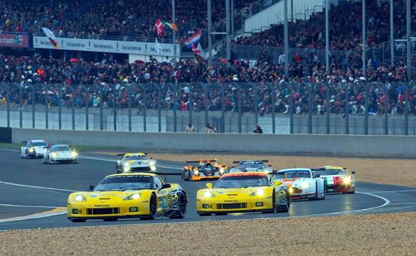 Corvette Racing at Le Mans: Corvettes Complete the 24 Hour Race