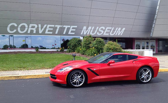 Corvette Museum to Raffle a 2014 Corvette Stingray at Anniversary Event