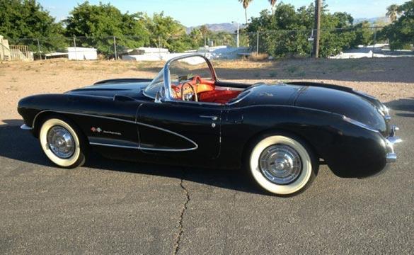 Corvettes on eBay: 1957 Corvette Found in Nevada Storage Unit
