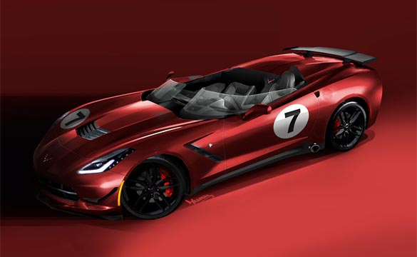 [PIC] C7 Corvette Stingray Racer Homage Concept Design