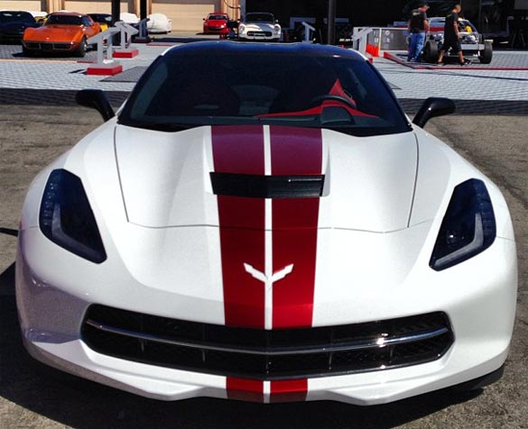 Chevy Reveals Two More Corvette Stingray Stripe Colors in Monterey