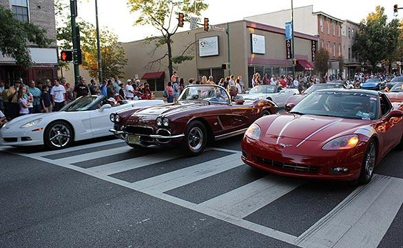 [VIDEO] 2013 Corvettes at Carlisle - Downtown Parade