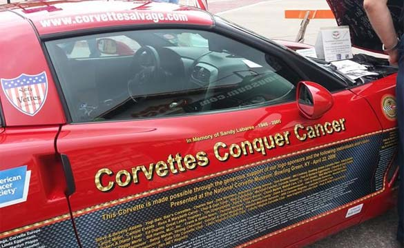 Corvettes Conquer Cancer 2006 Corvette
