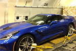 Europe-Bound 2014 Corvette Stingray Loaded onto a Jet Airliner
