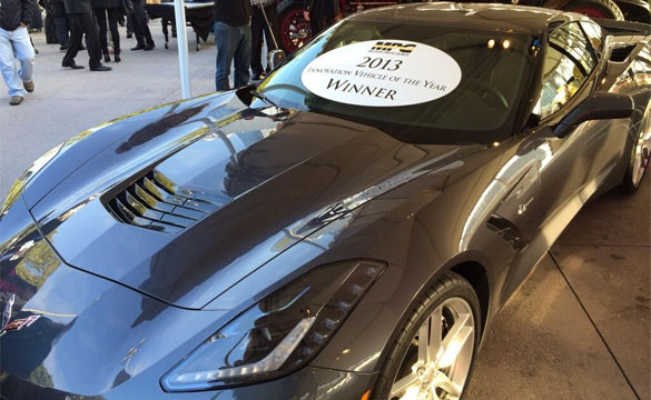 Motor Press Guild Names Corvette Stingray its 2013 Innovation Vehicle of the Year