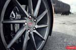 Vossen's Precision Series Wheels on a Black C7 Corvette Stingray