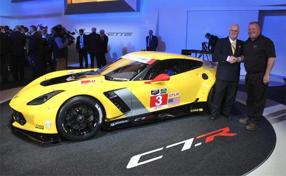[VIDEO] Corvette Racing's Doug Fehan on the C7.Rs Reveal at NAIAS