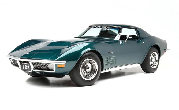 1972 ZR2 Coupe, lot 5018 sold for $495K