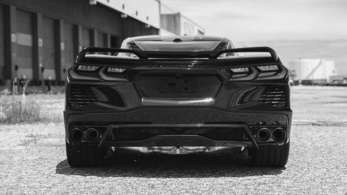 audio corsa previews their c8 corvette