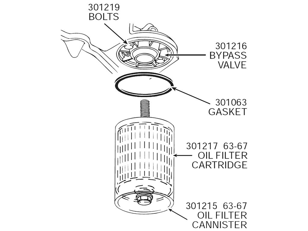 56 67 Oil Filter Canister Gasket