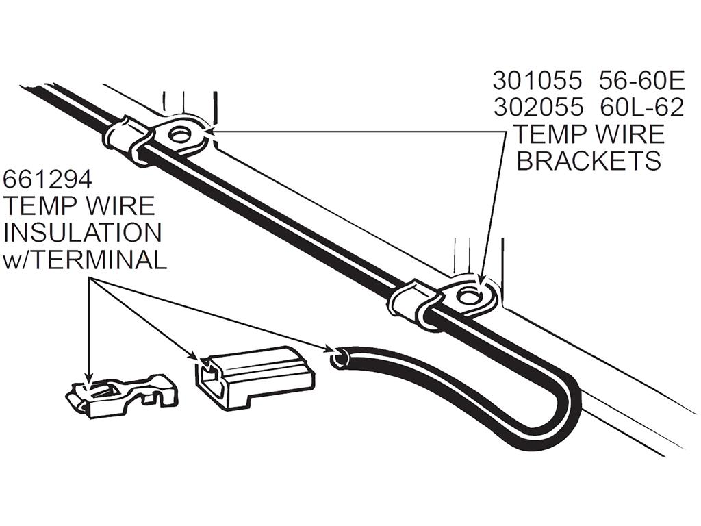 60 67 Temperature Sender Wire Bracket On Valve Cover 60l 67 327 And 72 Lt1 Sol