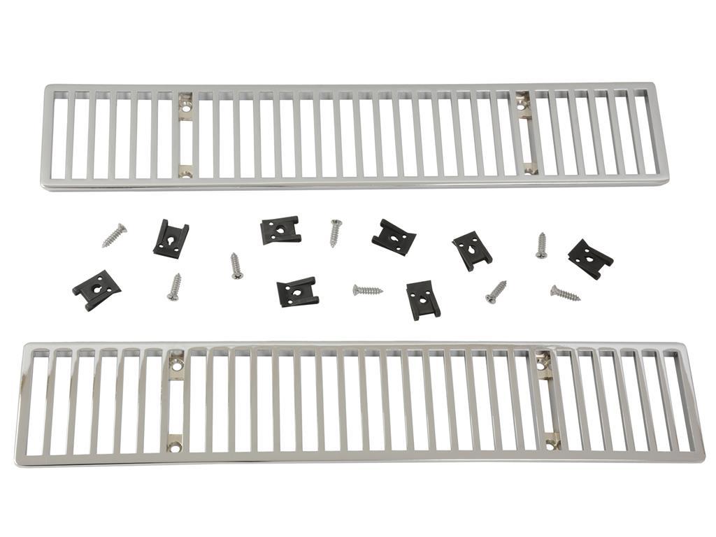 68 76 Chrome Rear Deck Vent Grille