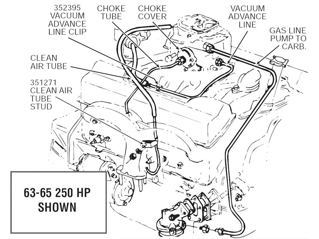 62 80 Exhaust Manifold Stud 62 65 Clean Air Tube 76 80