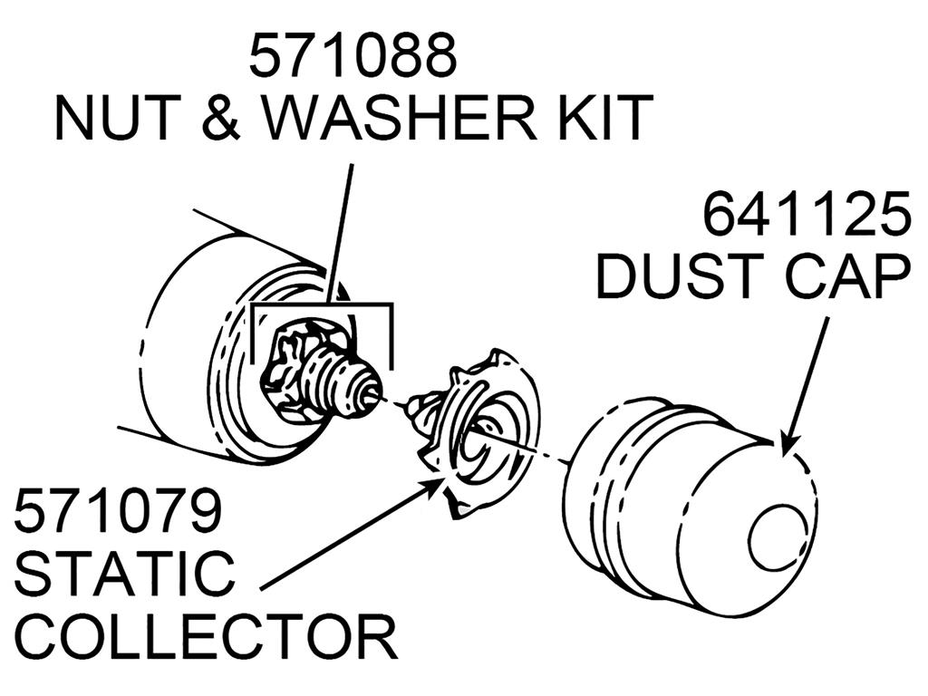 56 62 Wheel Static Collector